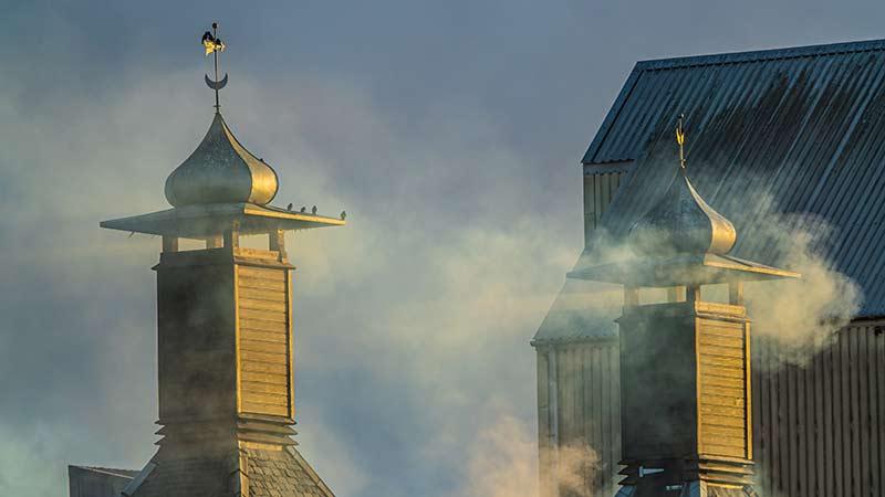 De Turf in Islay Whisky - Rokende Schoorstenen Bowmore Distillery