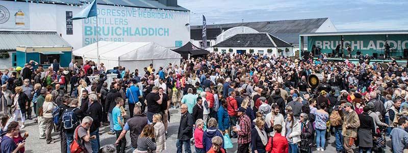 Islay Festival Bruichladdich Distillery