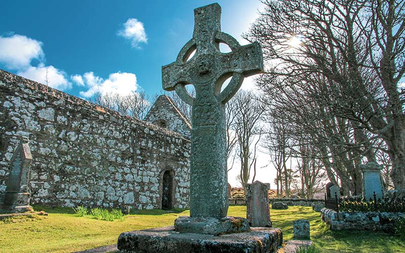 Kildalton Cross and Chapel Islay